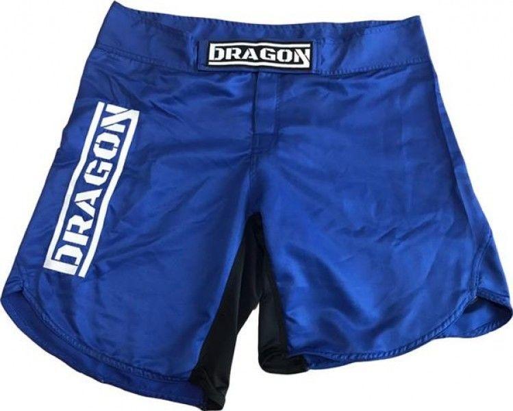 Dragon Sports spodenki MMA Dragon niebieskie
