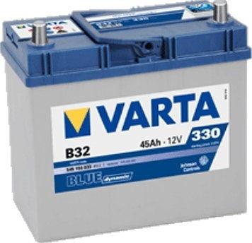 Akumulator VARTA Blue Dynamic B32 12V 45Ah 330A (EN) P+