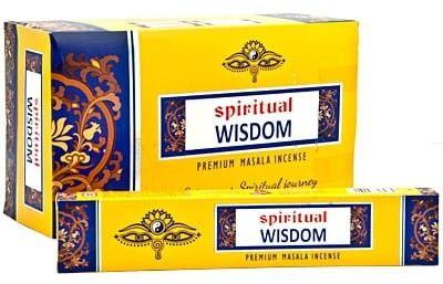 Kadzidełka Wisdom Mądrość Harmonia Pyłkowe Spiritual 15gx12szt.