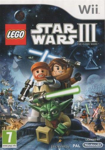 LEGO Star Wars III: The Clone Wars Wii Używana