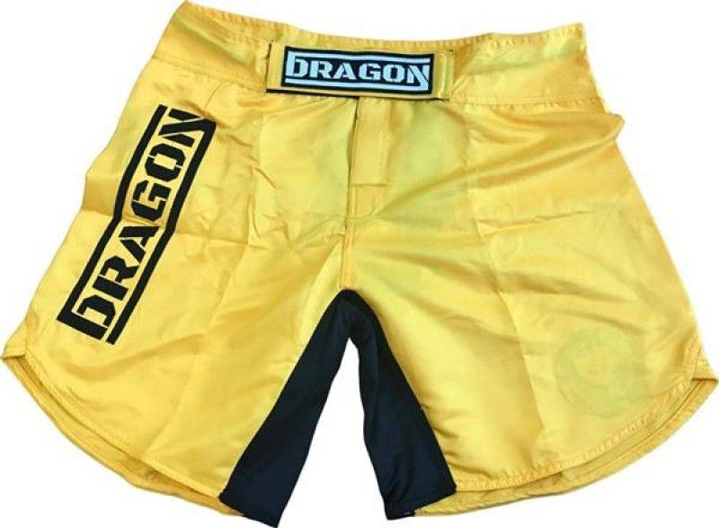 Dragon Sports spodenki MMA Dragon żółte