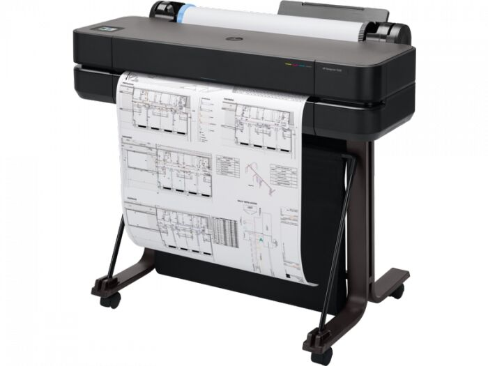 Ploter HP DesignJet T630 24  (5HB09A) + Tusz czarny HP 80ml Oryginał oraz wysyłka GRATIS