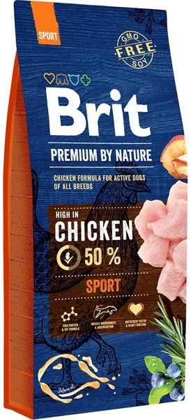 Brit premium BY NATURE SPORT - 15KG