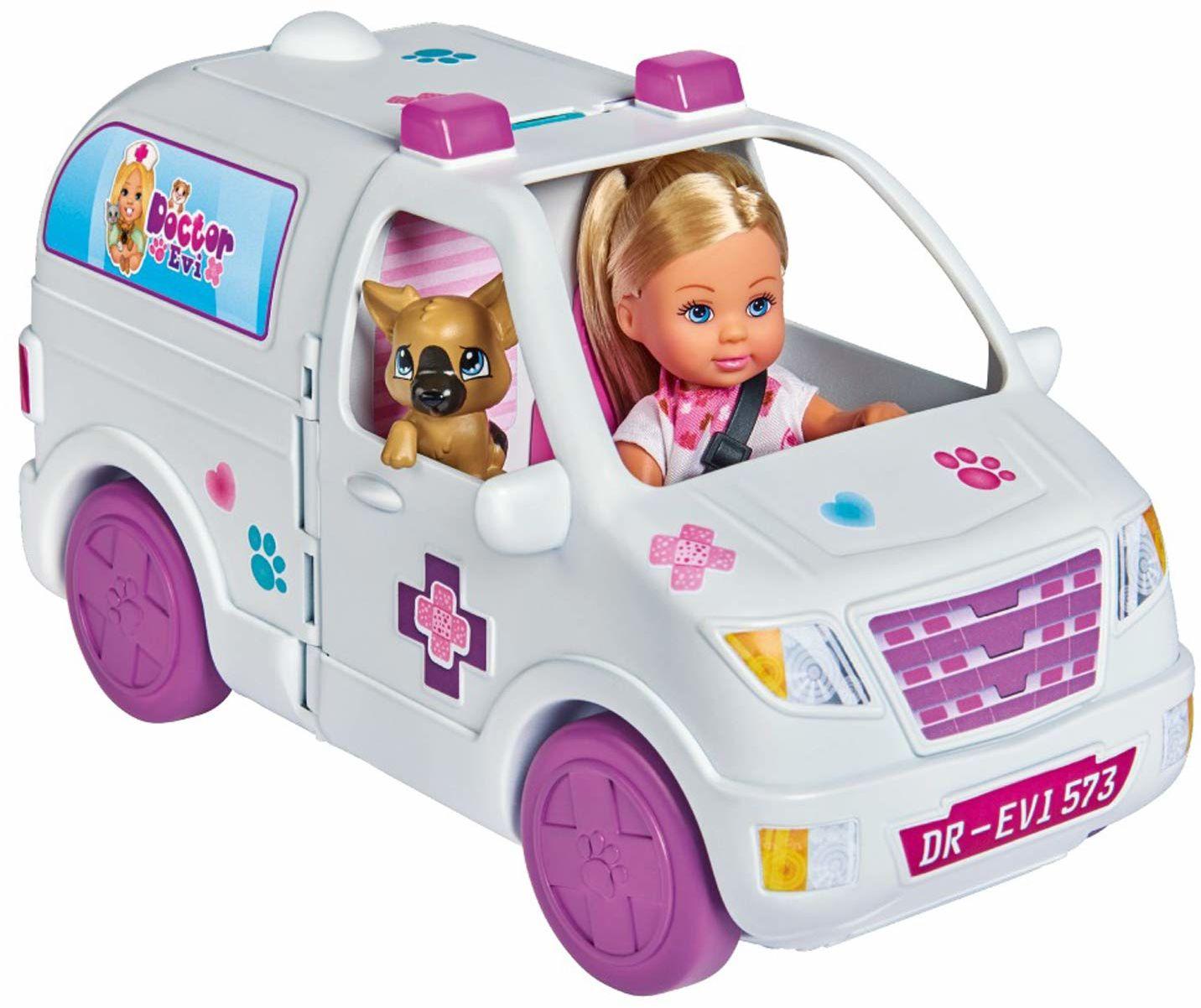 Simba EL Doktor Evi Ambulans 2 W 1 105733488038