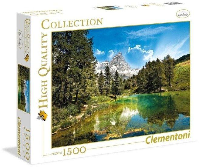 Puzzle 1500 HQ Blue Lake - Clementoni