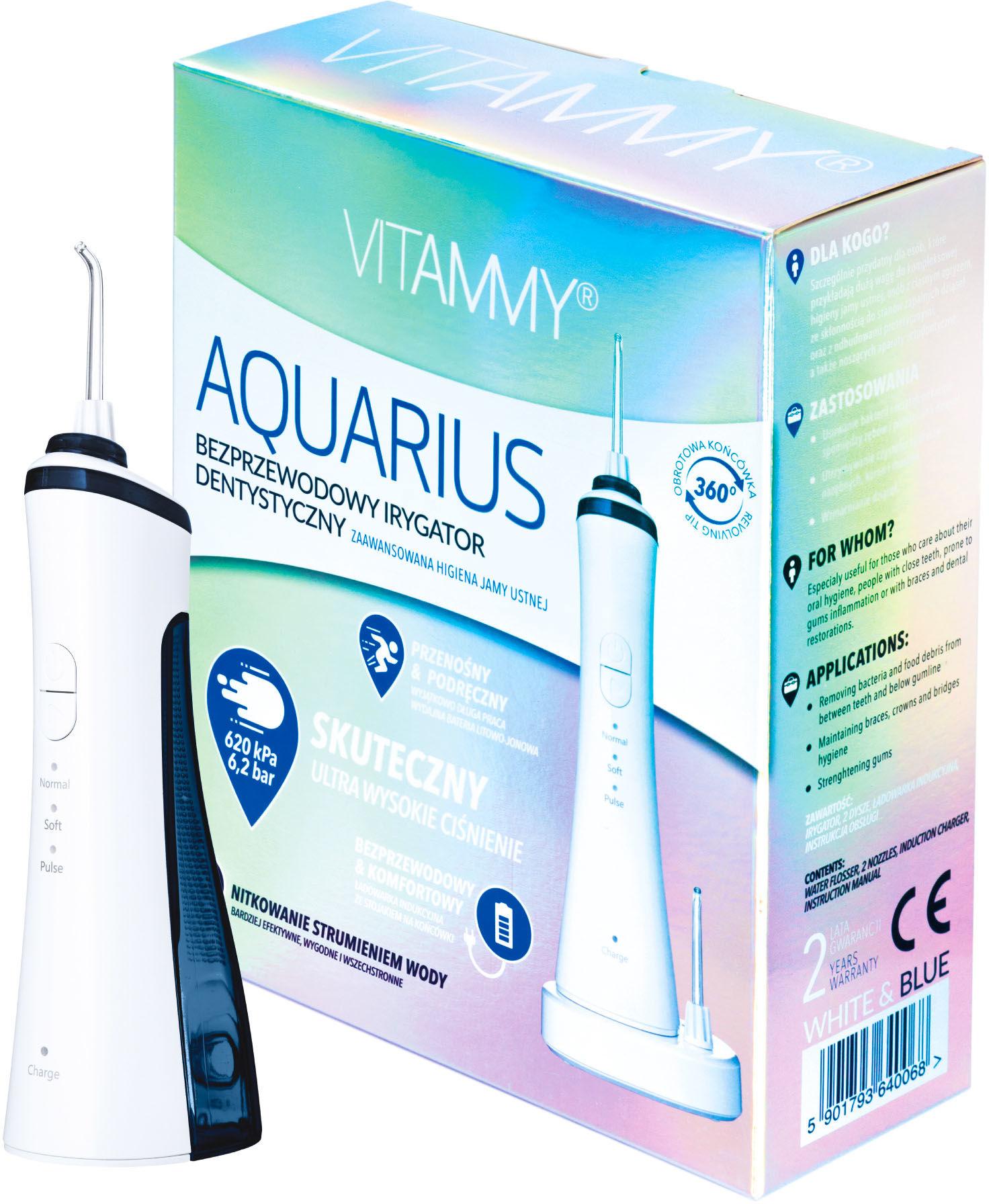 VITAMMY Aquarius Bezprzewodowy irygator dentystyczny
