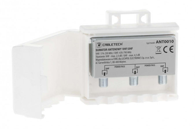 ANT0010 Zwrotnica - sumator antenowy VHF/UHF power pass