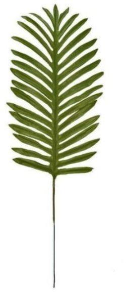 Sztuczny liść palmy zielony 51cm 1 sztuka VC2394-zielony