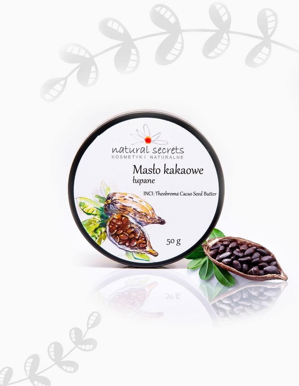 Natural Secrets Masło Kakaowe 100 ml