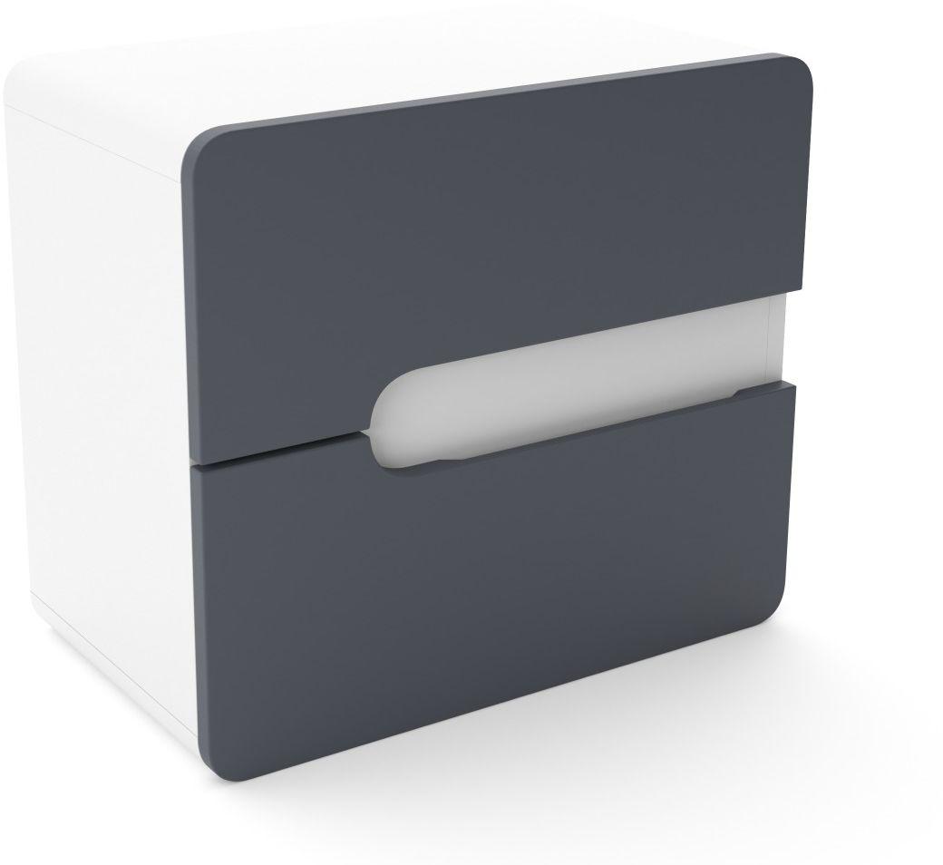 Szafka pod umywalkę nablatową LOFT 60 grafit mat/biały mat  Kupuj w Sprawdzonych sklepach