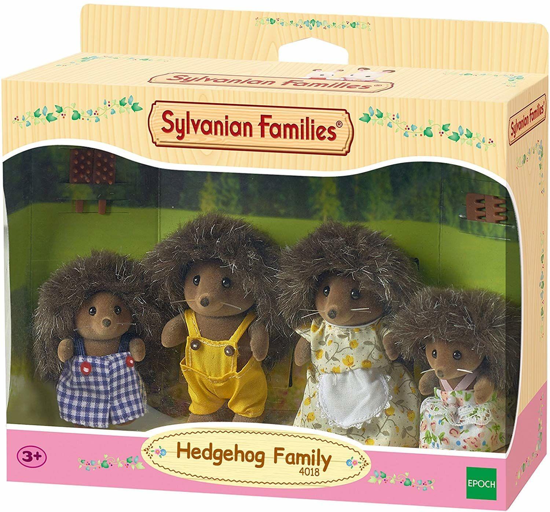 Sylvanian Families 4018 Rodzina jeżyków