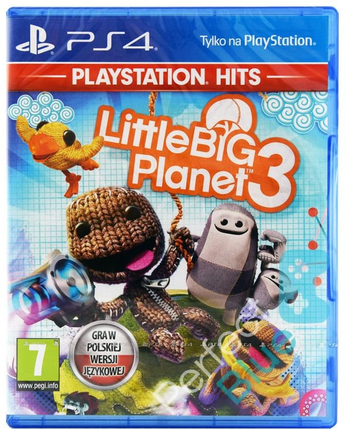 Gra PS4 Little Big Planet 3 PL Sklep Warszawa CH Land ZBIERAJ CEBULIONY! :)