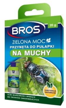 Bros Zielona moc przynęta do pułapki na muchy - 30 g