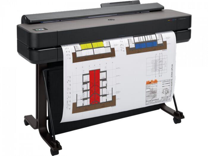 Ploter HP DesignJet T650 36  (5HB10A) + Tusz czarny HP 80ml Oryginał oraz 50m papieru GRATIS + zwrot od HP