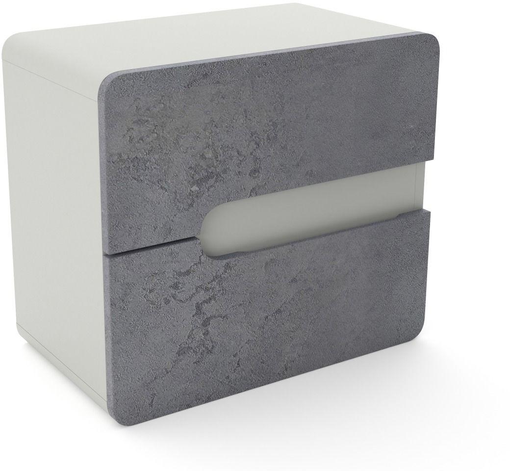 Szafka pod umywalkę nablatową LOFT 60 beton/szary mat  Kupuj w Sprawdzonych sklepach