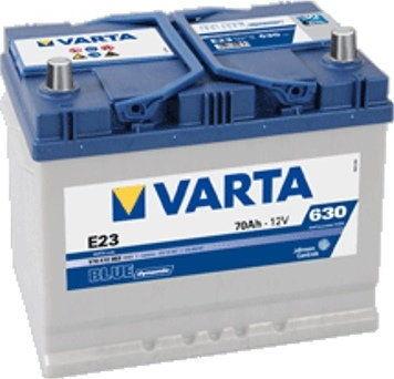 Akumulator VARTA Blue Dynamic E23 12V 70Ah 630A (EN) P+