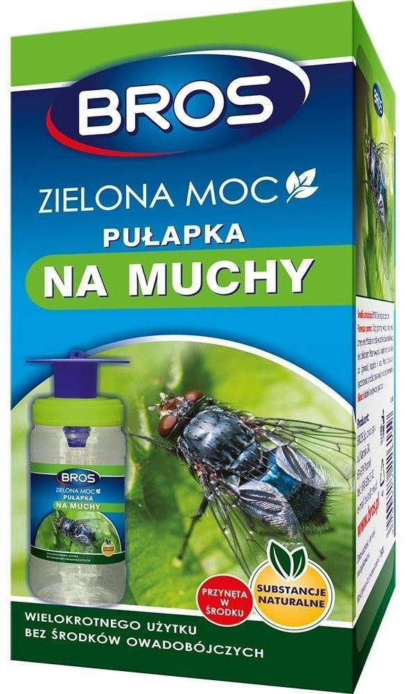 Bros Zielona moc pułapka na muchy
