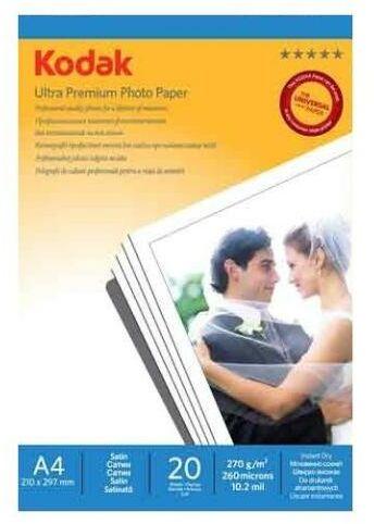 Kodak Papier foto ultra premium A4 270g 20 arkuszy