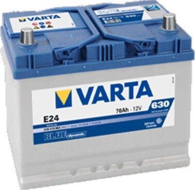 Akumulator VARTA Blue Dynamic E24 12V 70Ah 630A (EN) L+