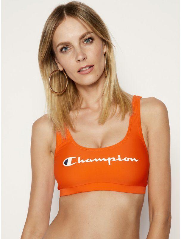 Champion Góra od bikini 112940 Pomarańczowy
