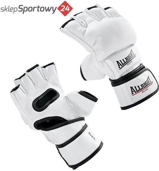 Rękawice MMA Allright PRO PU białe Rozmiar odzieży: XXL