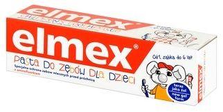 Pasta do zębów elmex dla dzieci od 0 do 5 Lat - 75ml