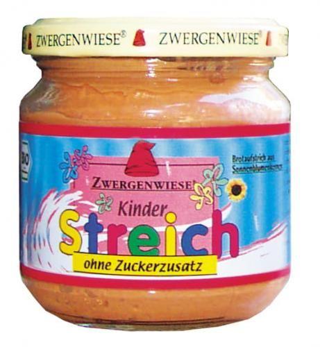 pasta słonecznikowa dla dzieci bez dodatku cukru BIO 180 Zwergenwiese