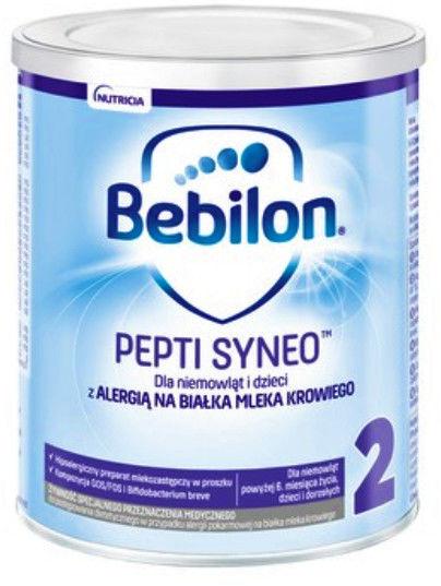 Bebilon Pepti Syneo 2 mleko modyfikowane w proszku 400 g