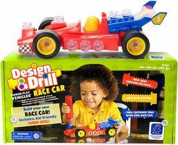 Learning Resources Przemysłowe i wiercone pojazdy do zabawy  samochód wyścigowy
