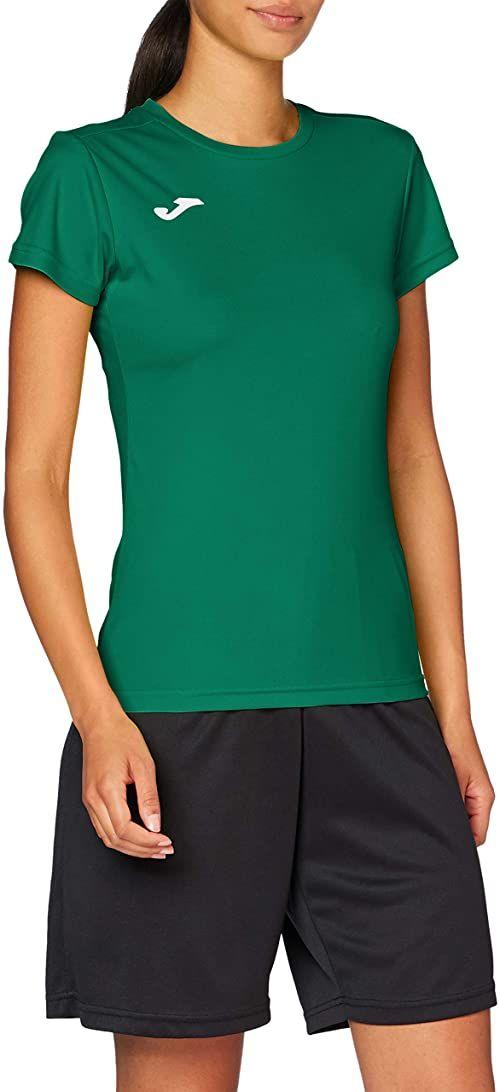 Joma damskie 900248.450 Joma damskie 900248.450 t-shirty damskie - zielone/zielone, 2 x małe Green/Green XXL