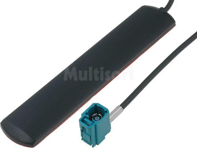 Antena GSM-UMTS klejona na szybę kabel 5m złącze Fakra
