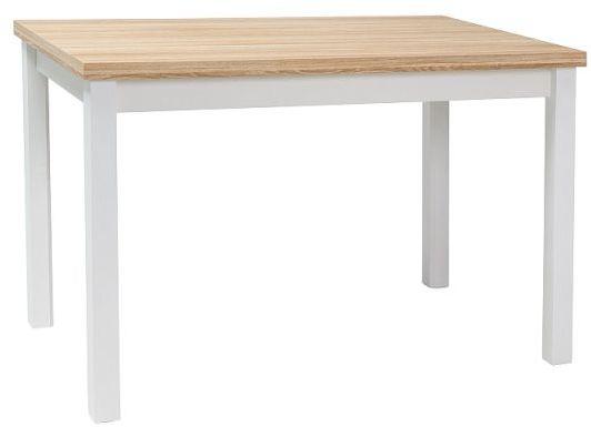 Stół ADAM 100x60 dąb/biały mat  Kupuj w Sprawdzonych sklepach