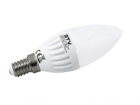 Żarówka LED 8W E14 3000K ciepły biały 700lm SMDC37-80 GTV 8373