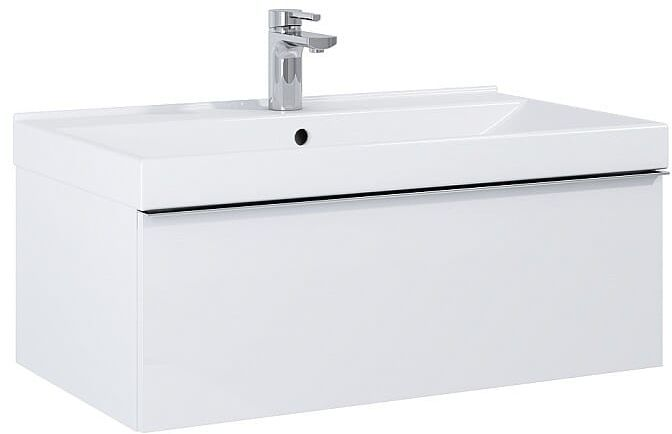 Szafka pod umywalkę 80 Look White Matt Elita (167594)