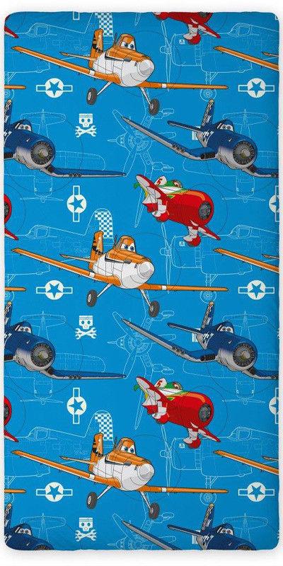 Prześcieradło Bawełniane Disney Planes 01 160x200 cm