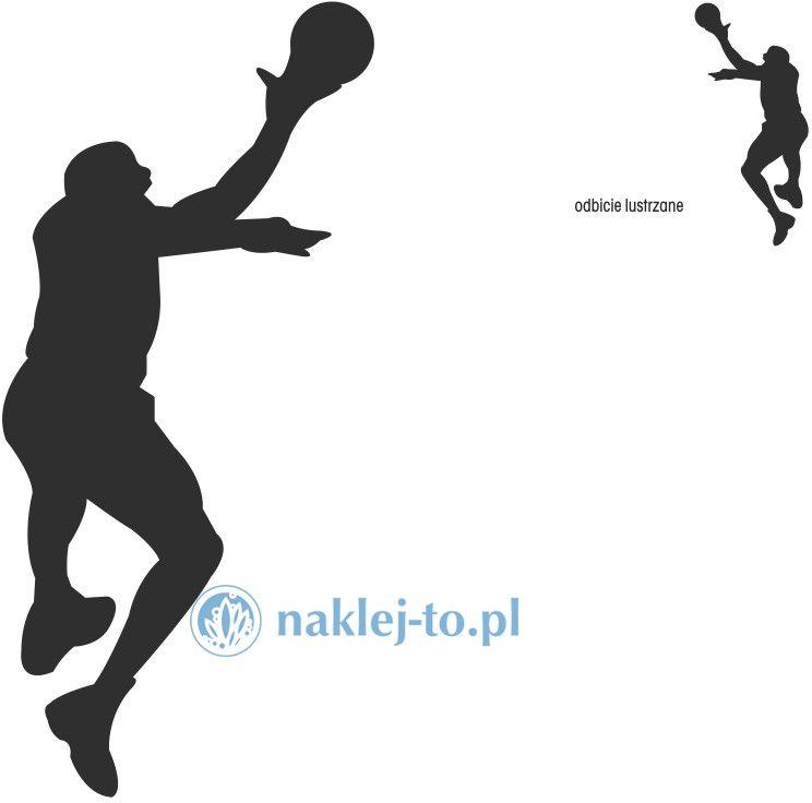 naklejka koszykarz 2 naklejka na ścianę
