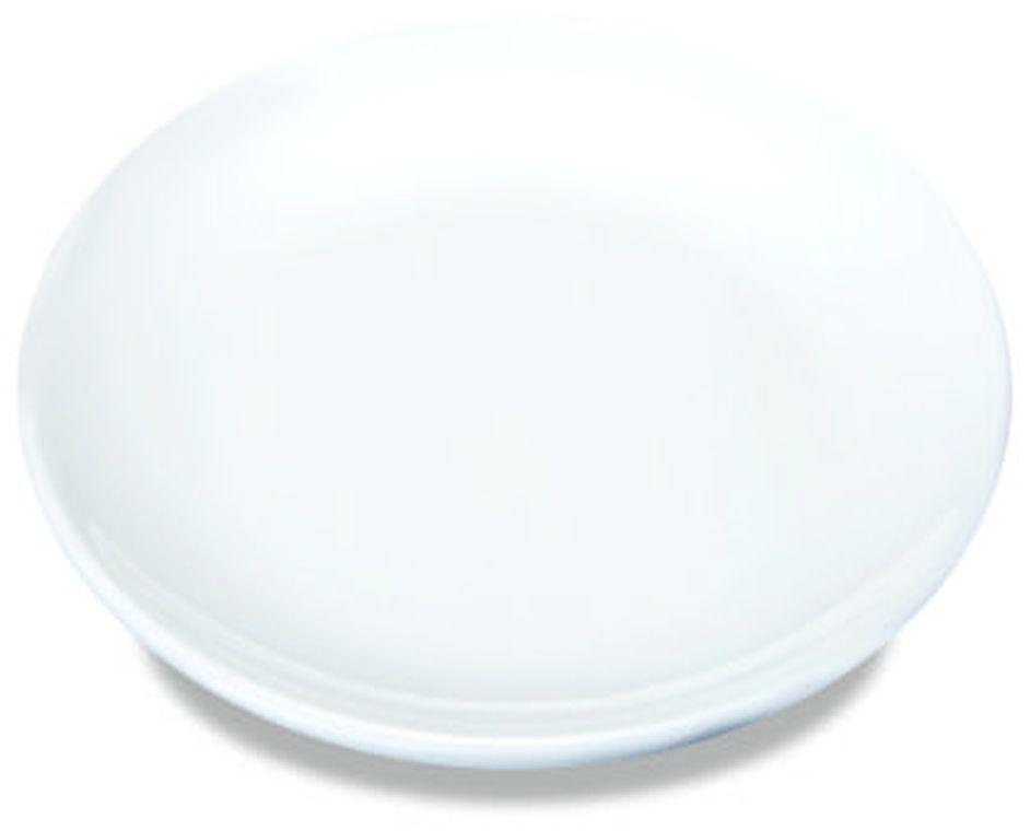 Talerz płytki bez rantu porcelanowy Modermo Prima śr. 25 cm