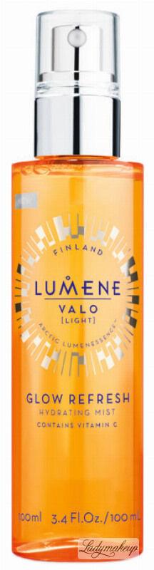 LUMENE - VALO - GLOW REFRESH HYDRATING MIST - Nawadniająca mgiełka do twarzy z witaminą C