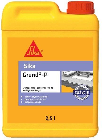 Grunt pod kleje poliuretanowe Sika Grund P 2,5 l
