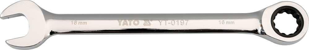 Klucz płasko-oczkowy z grzechotką 11 mm Yato YT-0192 - ZYSKAJ RABAT 30 ZŁ