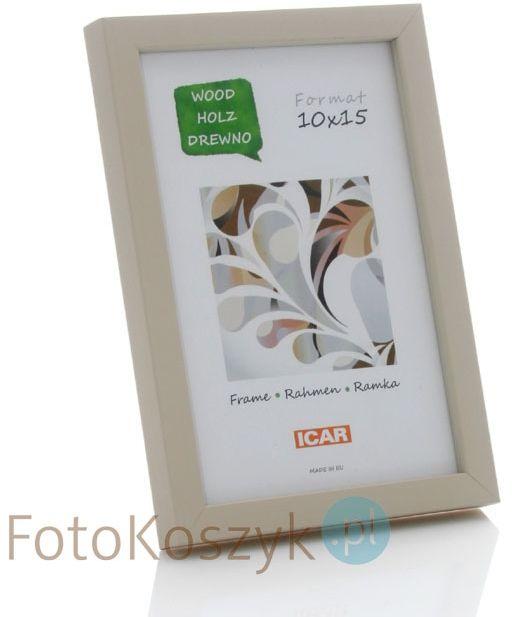 Ramka drewniana Pinia kremowa (na zdjęcie 10x15 cm)
