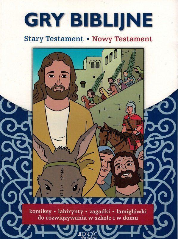 Gry biblijne. Stary Testament, Nowy Testament - oprawa miękka