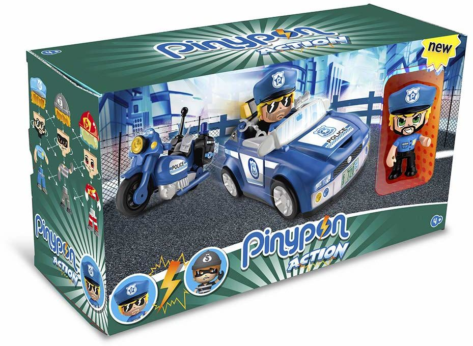 Pinypon Action - Pojazdy policyjne (Famosa 700014495)
