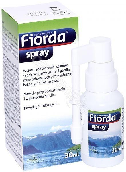 Fiorda spray Stany zapalne jamy ustnej i gardła, 30 ml