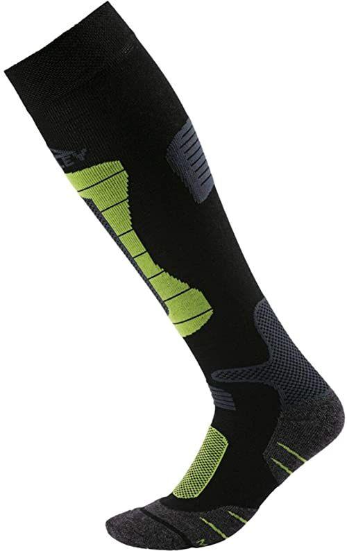 McKINLEY Ben rajstopy męskie czarny czarny/zielony 36-38