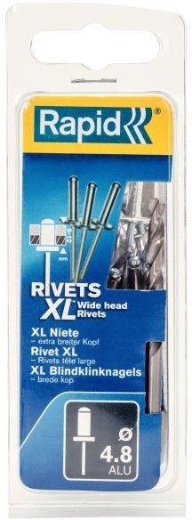 Nity Rapid XL wiertło śr. 4,8 x 12 mm 40 szt.