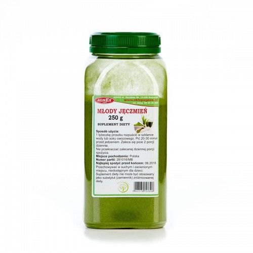 Młody zielony jęczmień 250g - słoik