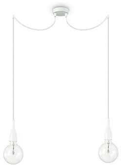 Lampa wisząca Minimal SP2 112718 Ideal Lux biała oprawa w minimalistycznym stylu