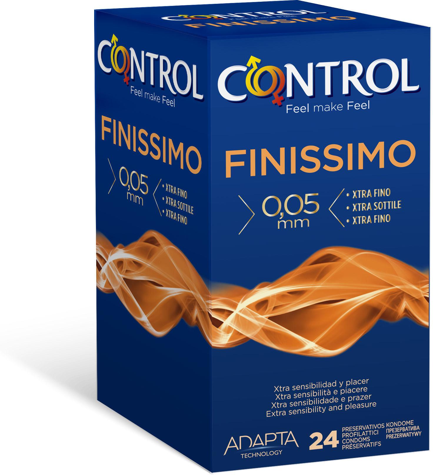 Control Finissimo 24 supercienkie prezerwatywy