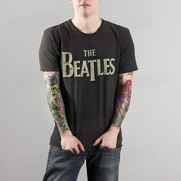 Koszulka amplified - beatles vintage